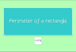 Year 3 Measurement Perimeter of a rectangle