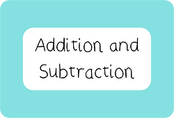 Year 1 Addition and Subtraction