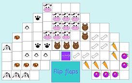Flip flaps