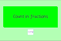 year 4 count in fractions
