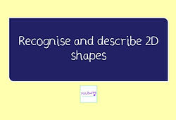 year 3 geometry recognise and describe 2d shapes