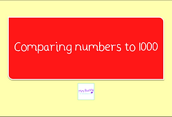 comparing numbers to 1000