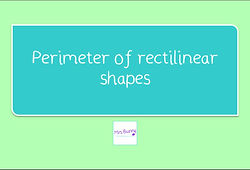 Year 4 Maths measurement perimeter of rectilinear shapes