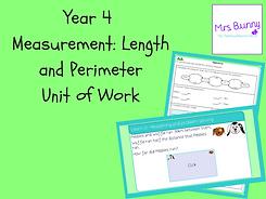 Year 4 Measurement: Length and Perimeter Unit of Work