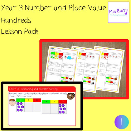 Hundreds lesson pack (Year 3 Number and Place Value)