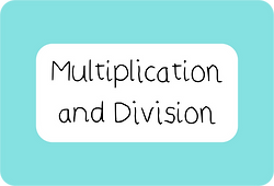 Year 3 Multiplication and Division