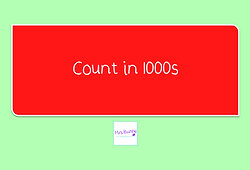 count in 1000s