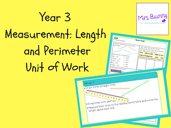 Year 3 Measurement: Length and Perimeter Unit of Work