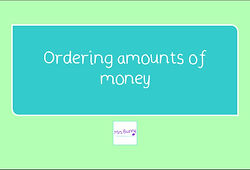 year 4 money ordering amounts of money