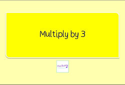 Year 3 Multplication and Division Multiply by 3