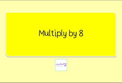 Year 3 Multiplication and Division Multiply by 8