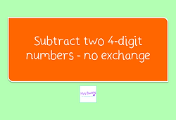 Year 4 Addition and Subtraction
