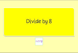 Year 3 Multiplication and Division Divide by 8