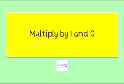 Year 4 Multiplication and Division Multiply by 1 and 0