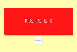100s 10s 1s