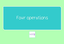 year 4 money four operations