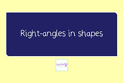 Geometry right-angles in shapes