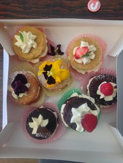 Summer mini cakes.