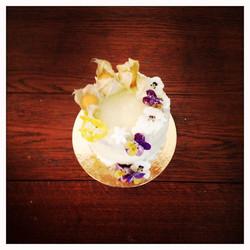 Golden Wedding Dessert Table Cake.