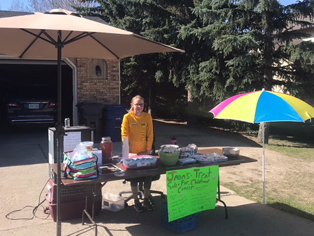 JADA'S TREAT SALE FOR CHILDHOOD CANCER