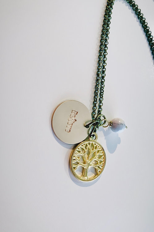 Believe Family Tree Necklace