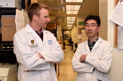 Dr. Mahoney with Dae-Sun Kim