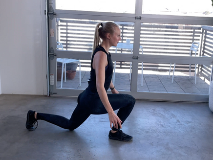 Lunges and Lower Body Strength & Conditioning