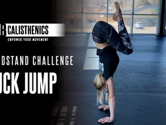 ClubCal Handstand Challenge - DAY 11 - Tuck Jumps