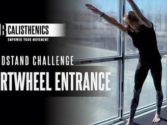 DAY 20 - Cartwheel Entry Handstand