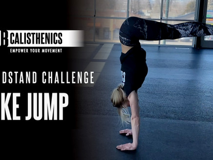 ClubCal Handstand Challenge - DAY 12 - Pike Jumps