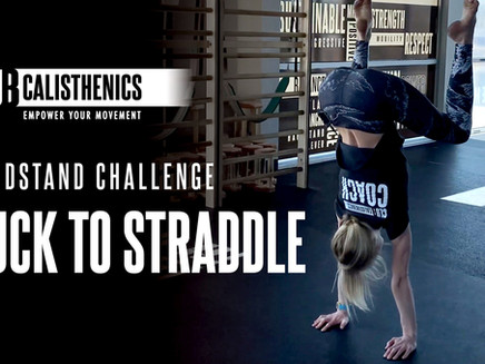 ClubCal Handstand Challenge - DAY 13 - Tuck To Straddle