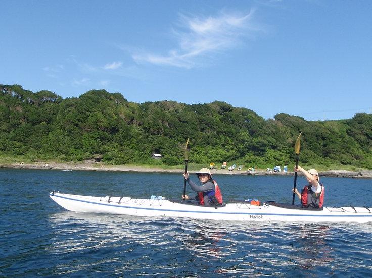 Miura Sea kayaking
