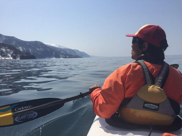 Hokkaido Shiretoko Peninsula Sea kayaking