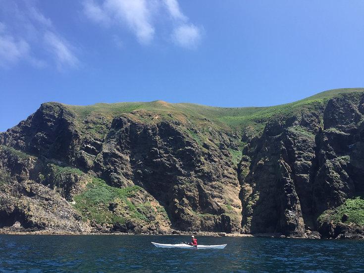 Hokkaido Teuri-Jima Sea kayaking