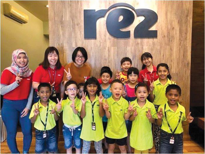 RE2 Raises Funds for PCSH - Jun 2018