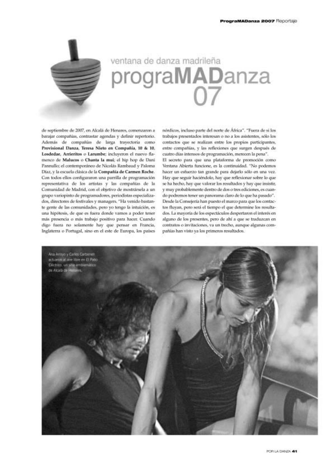 Prensa.La Ventana de Alcalá