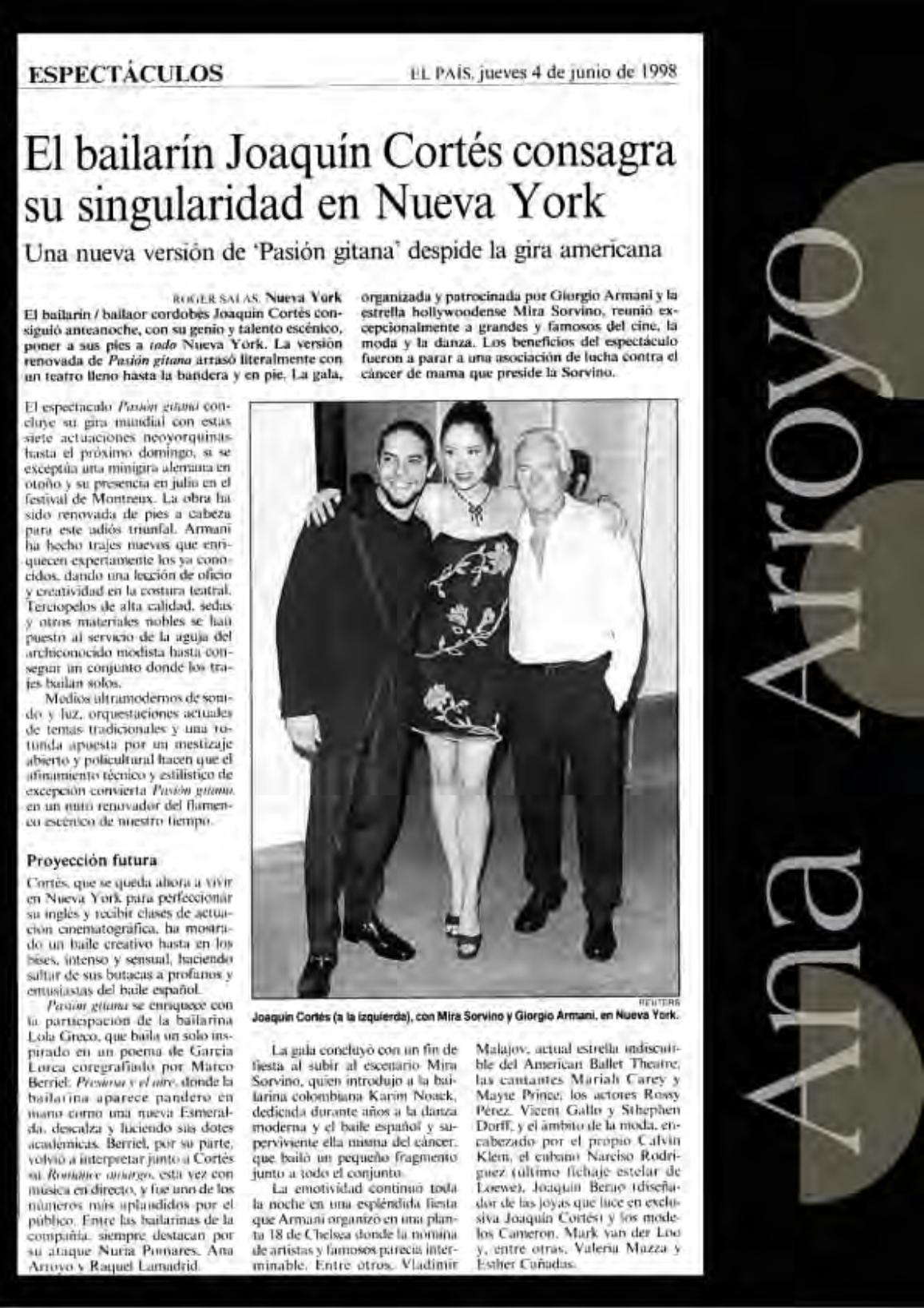 Prensa.Comp.Joaquín Cortés