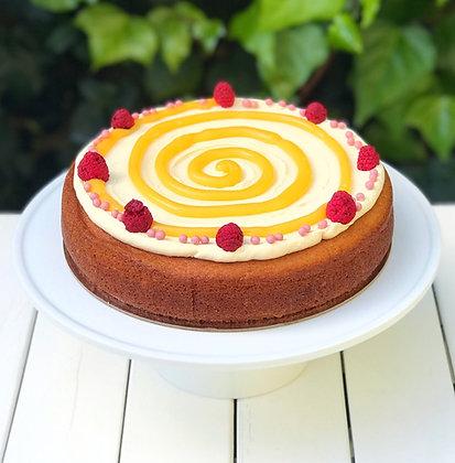 Lemon Curd Classic Cake