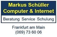 Schüller Computer Internet Frankfurt Mai