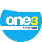One in 3 City of Boston Logo