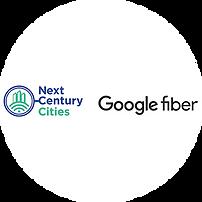 next century cities and google fiber logo