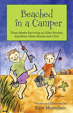 Beached in a Camper  1 - Front Book Cove