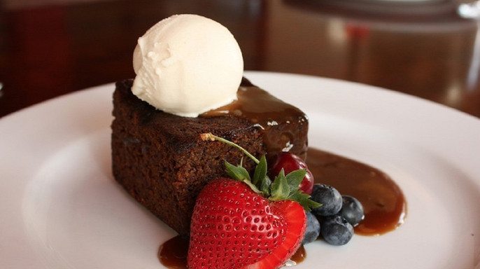 Our Famous Sticky Toffee Pudding