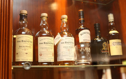 Over 100 Malt whiskies to choose from