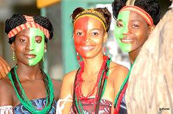 ladies smiling in Tofo Mozambique