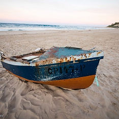 traditional mozambique fishing boat