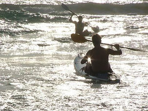 kayaking in mozambique