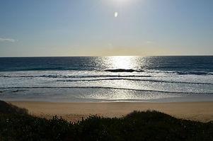 early morning tofo beach inhambane