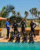 tofo scuba dive course open water