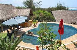 Albatroz lodge Tofinho Mozambique pool